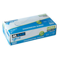 Handschoenen M-Safe 4215 disposable latex, 100 paar