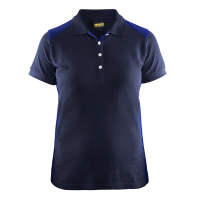 Polo Blaklader 3390 Dames bi-colour navy/korenblauw