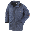 Parka Workman all-season beaver met Teflon® | Navy blauw