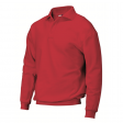 Polosweater Rom88 PSB280 met boord | Rood