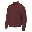 Polosweater Rom88 PSB280 met boord | Wijn rood