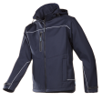 Softshell jas Sioen 9932 Homes 3-laags | Navy blauw