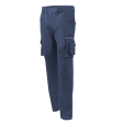 "Werkbroek Workman Cargo ""worker model"" unikleur  Navy blauw (1225)"