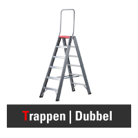Dubbel oploopbare trap