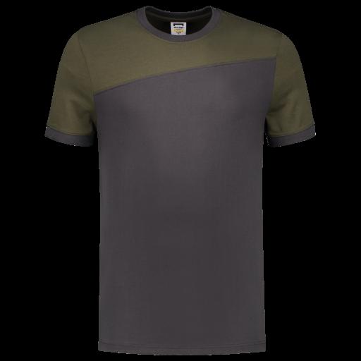 Tshirt Tricorp 102006 schuine naad Grey - Army