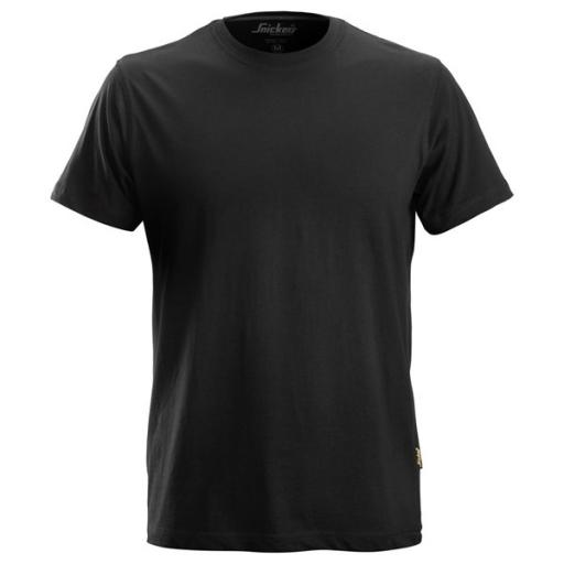 T-shirt Snickers 2502 160gr/m2 - zwart