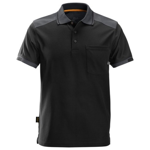 Poloshirt Snickers 2701 AllroundWork 37.5 zwart met grijs