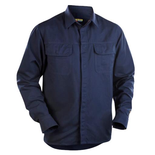 Overhemd Blaklader 3227 vlamvertragend - Anti-statisch navy