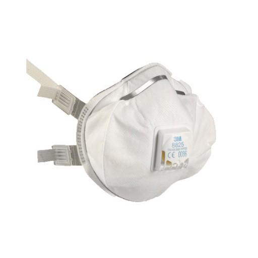 Stofmasker 3M 8825 ventiel FFP2, 5 stuks