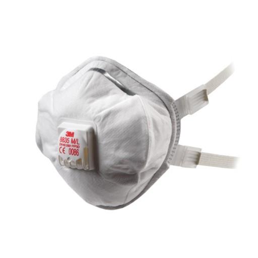 Stofmasker 3M 8835 ventiel FFP3, 5 stuks