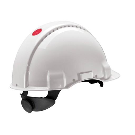 Veiligheidshelm 3M Peltor G3000N | Draaiknop | Wit