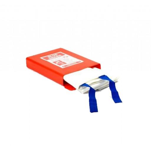 Blusdeken ATV enkellaags 180x180cm hardbox