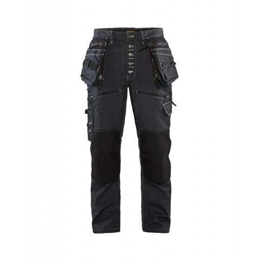 Werkbroek jeans Blaklader X1900 baggy trousers stretch