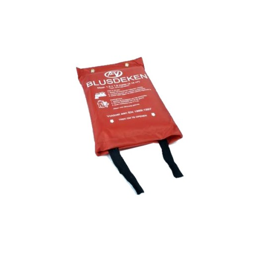 Blusdeken ATV Enkellaags 100x100 cm Softbag