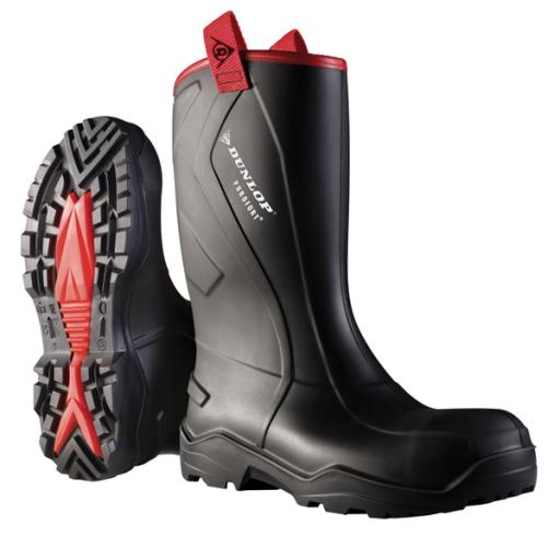 Werklaarzen Dunlop C762043.CH Purofort zwart rugged S5