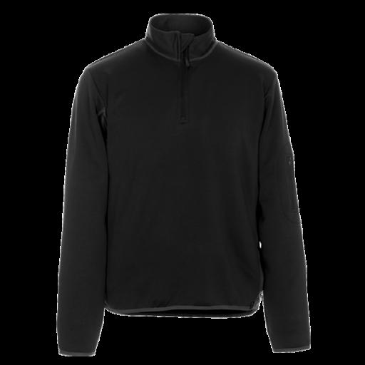 Polo sweatshirt Mascot Estela zwart met antraciet