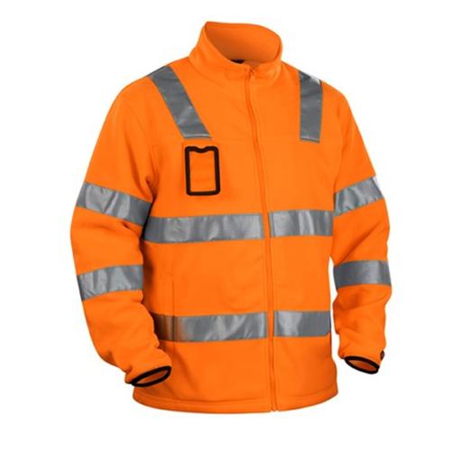 Fleecejack Blaklader 4833 EN471 cl. 3 | Fluor oranje