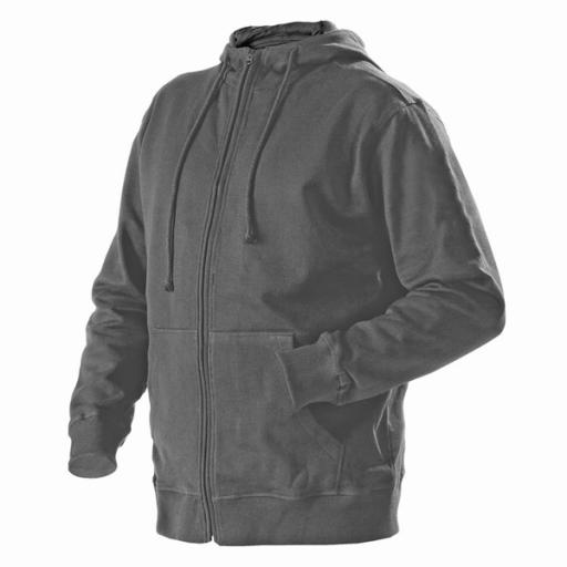 Hooded sweatjack Blaklader 3366  grijs