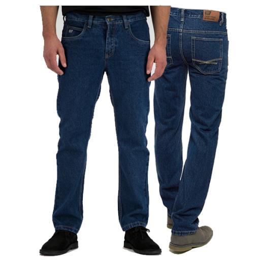 Jeans 247 Teak D310 medium blue Regular fit
