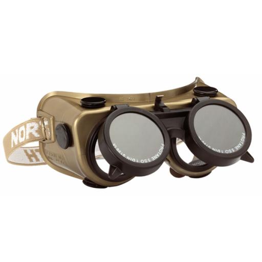 Lasbril Honeywell Amigo 50 mm DIN-5 groen lasglas