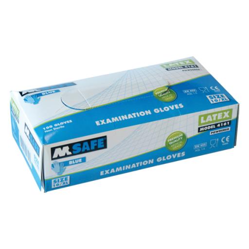 Handschoenen M-Safe 4215 disposable latex, 100 paar