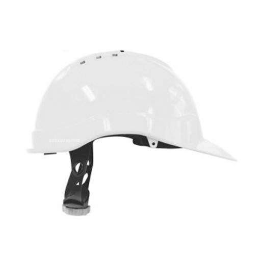 Veiligheidshelm M-Safe PE MH6010 Draaiknop | Wit