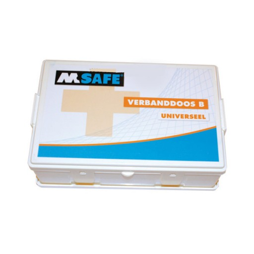 M-Safe Verbanddoos B universeel (Inclusief wandhouder)