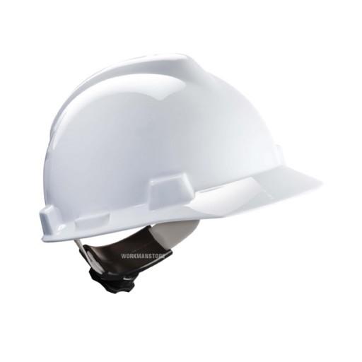 Veiligheidshelm MSA V-gard Fas-Trac | Wit