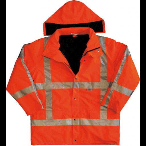 Parka M-safe RWS EN471 0986 Flour oranje