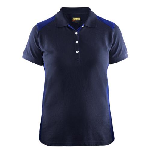 Polo Blaklader 3390 Dames bi-colour navy/korenblauw
