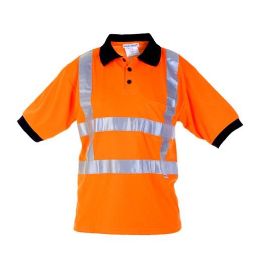 Poloshirt Hydrowear Tilburg EN471 RWS | Fluor oranje