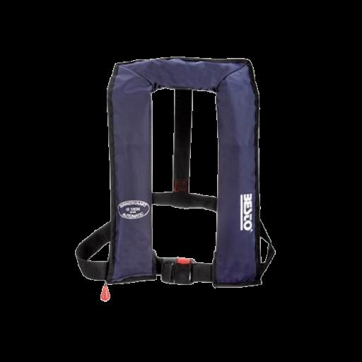 Reddingsvest Besto automatic binnenvaart 150n - Blauw