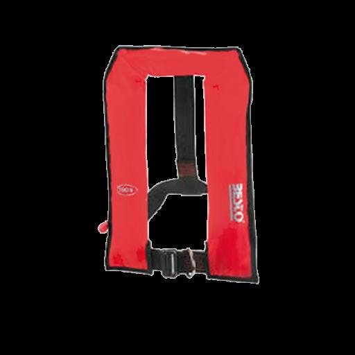 Reddingsvest Besto automatic binnenvaart 150n - Rood