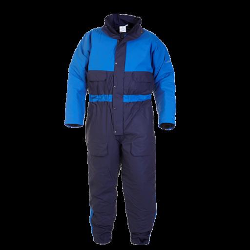 Spuit en doorwerkoverall Hydrowear Sheffield Hydrosoft - gevoerd - Blauw/korenblauw