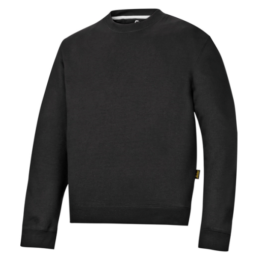 Sweater Snickers 2810 ronde hals zwart