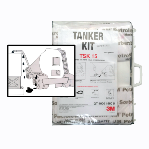 3M Tanker absorptie kit compeet TSK 15
