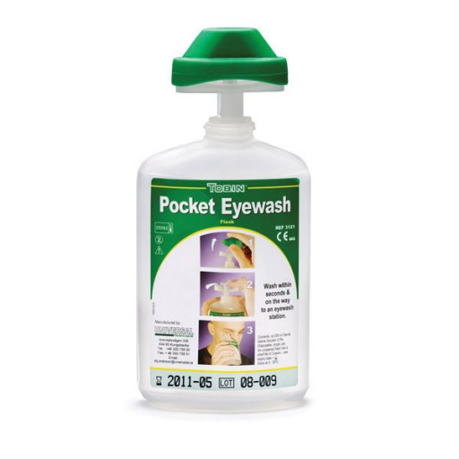 Oogspoelfles Tobin 200 ml met oogbad