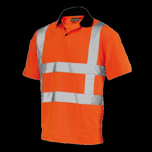 Poloshirt Tricorp TP-RWS EN471 RWS Cool Dry   Fluor oranje