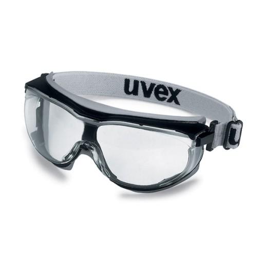 Ruimzichtbril Uvex carbonvision 9307-375 Heldere PC lens, UV 2-1.2.