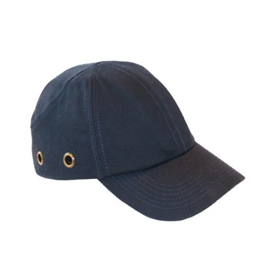 Verharde baseball cap Msafe 3020 EN812 | Navy blauw