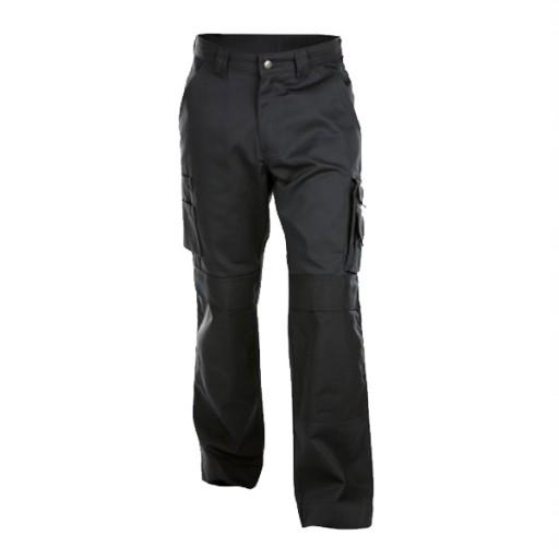 Werkbroek Dassy Miami met kniezakken 245gr/m2   Zwart