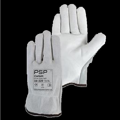 Handschoenen PSP 34-220 Driver Grain/Splitleder