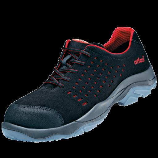Werkschoenen Atlas SL30 Red ESD S1 rood met zwart