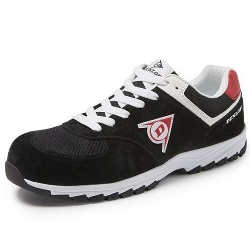 Werkschoenen Sneakers S3.Werkschoenen Dunlop Flying Arrow Zwart S3 Bij Workmanstore Nl