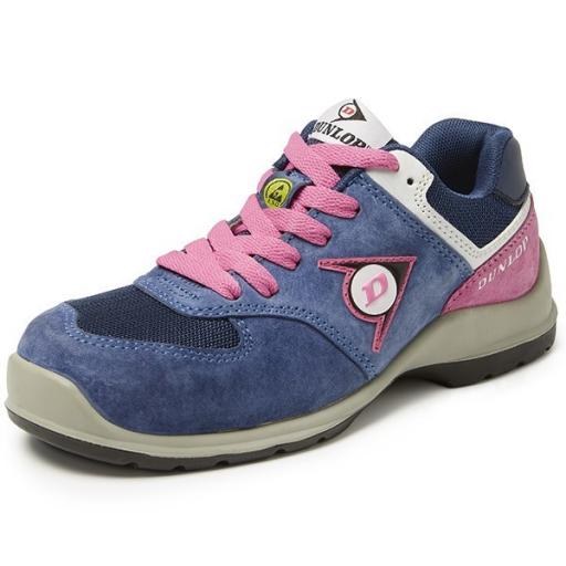 Werkschoenen Dunlop Lady Arrow blue S3