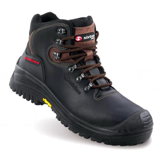 Werkschoenen Sixton Stelvio Zwart S3 HRO SRC