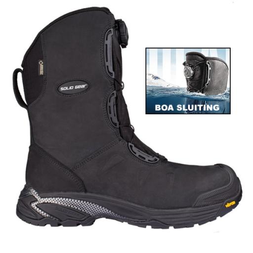 Werkschoenen Laarzen.Werkschoenen Solid Gear Polar Boa S3 Src Gevoerd Bij Workmanstore Nl