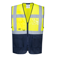Vest Portwest C377 Hi-Vis MeshAir Executive geel/navy