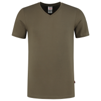 T-Shirt V Hals Fitted Tricorp 101005