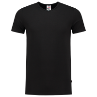 T-Shirt Elastaan Fitted V Hals Tricorp 101012
